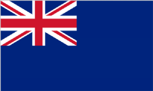 Blue Ensign Large Flag - 3' x 2'.